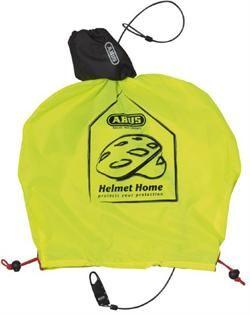 Billede af Abus Helmet Home Neon Yellow Indbygget Kodelås