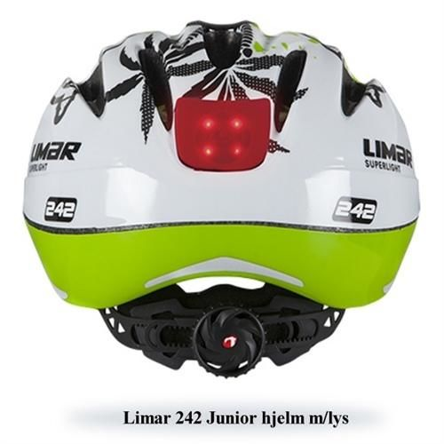 Limar 242 dragon flame kids med LED lys